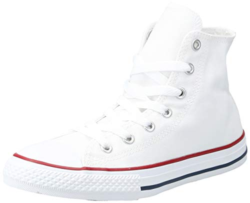 Converse Unisex-Kinder CHUCK TAYLOR ALL STAR - HI Hohe Sneakers, Weiß, 35 EU