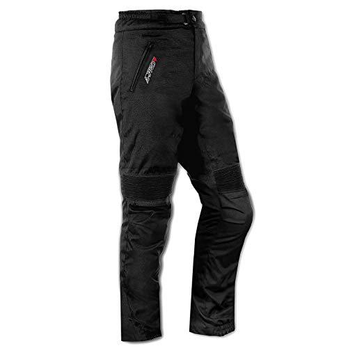 A-Pro Pantaloni Cordura Tessuto Moto Impermeabile Termaca Sfoderabile Touring Uomo 32