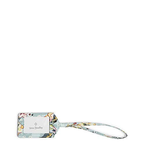 Vera Bradley Signature Cotton Luggage Tag, Floating Garden