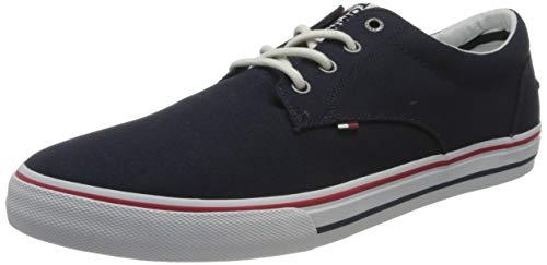 Tommy Hilfiger Tommy Jeans Textile Sneaker, Zapatillas Para Hombre, Gris (Ink 006), 43 Eu