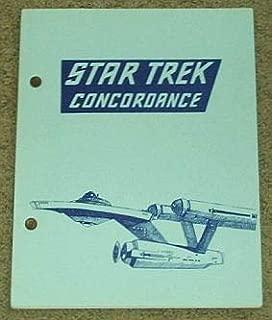 Star Trek Concordance of People, Places & Things (Seasons 1 & 2)