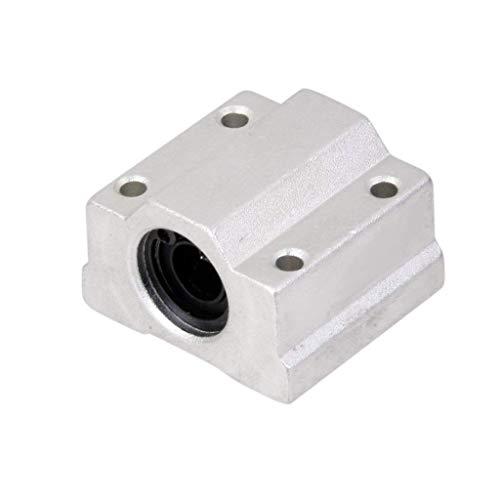 UIOTEC 3D Printer Accessories Linear Bearings Slider SC8 SC8UU SCS8UU*