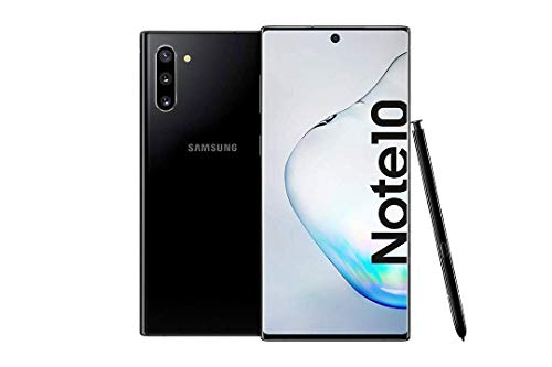 Samsung Galaxy Note 10 Smartphone Bundle (15.9cm (6.3 Zoll) 256GB interner Speicher, 8GB RAM, Dual SIM, Android) Aura Black inkl. 36 Monate Herstellergarantie [Exklusiv bei Amazon] | Deutsche Version