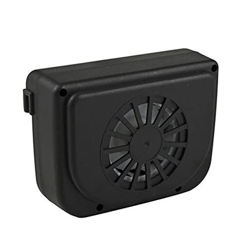 BRAND NEWS Ventilador de Coche con energía Solar, Solar de Ventana Ventilador de Escape de Coche Radiador de Coche, Ventilación de Aire automática Sistema de Ventilador de refrigeración Enfriador