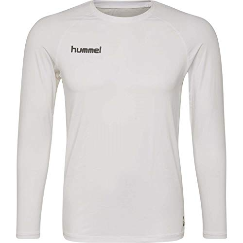 Hummel Kinder Funktionsshirt First Performance Jersey L/s 204503 White 152
