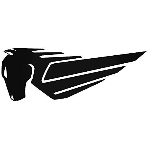 SUPERSTICKI Buell Logo ca 20cm Motorrad Aufkleber Bike Auto Racing Tuning aus Hochleistungsfolie Aufkleber Autoaufkleber Tuningaufkleber Hochleistungsfolie für alle glatten Flächen UV und W