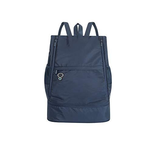 GEEKEN L?Ssige Leichte Sporttasche mit Gro?Er Kapazit?T Sporttasche für M?Nner und Frauen Reiserucksack Marineblau