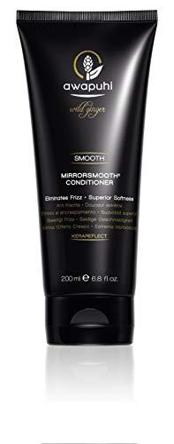 Paul Mitchell Awapuhi Wild Ginger MirrorSmooth Conditioner - Feuchtigkeits-Conditioner für trockenes, widerspenstiges Haar, Haarpflege für mehr Glanz, 200 ml