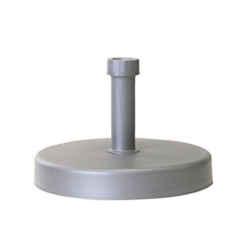 greemotion 462310.0 Base para Sombrilla, Plata, 46x46x7 cm