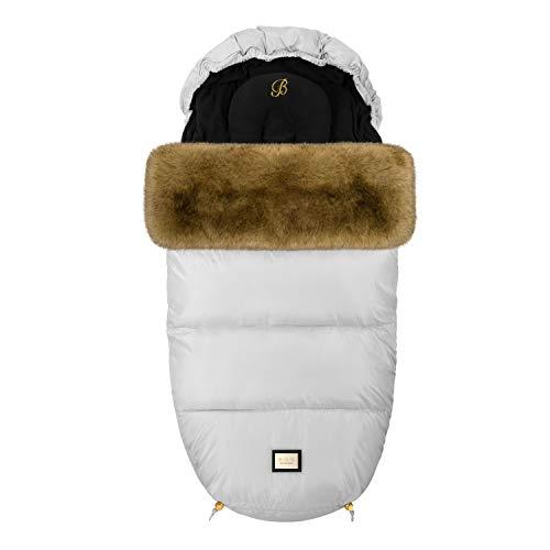 Bjällra Of Sweden 8069814 El saco de pies perfecto – Trendy Grey, gris, 1200 g