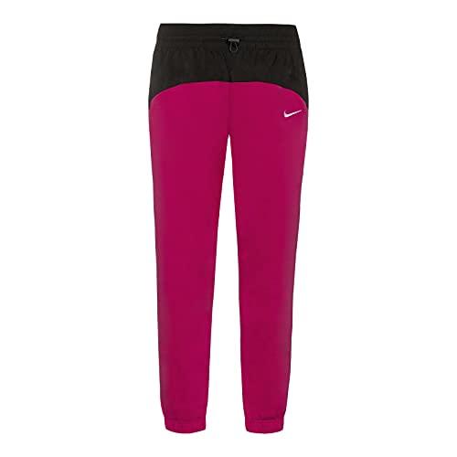 Nike Damen W NSW ICN CLSH Jogger Mix HR Kompressionshose, Fireberry/Black/(White), L