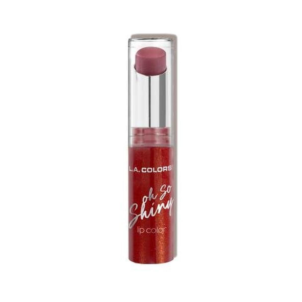 次へ丘トレード(3 Pack) L.A. COLORS Oh So Shiny Lip Color - Sassy (並行輸入品)