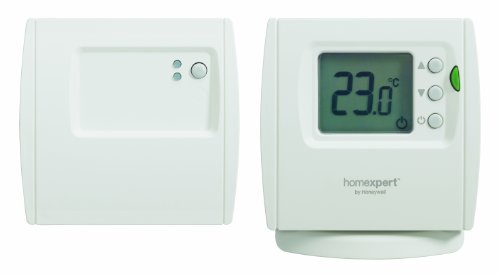 Honeywell THR842DBG - Termostato digital inalámbrico con función ECO