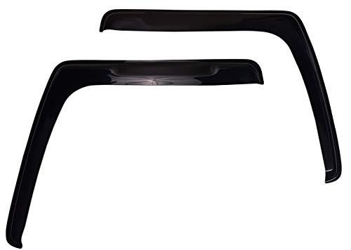 PERFLEX Set Windabweiser Regenschutz Fenster Seiten-Windabweiser für LKW TGX TGS TGA Dekoration Zubehör