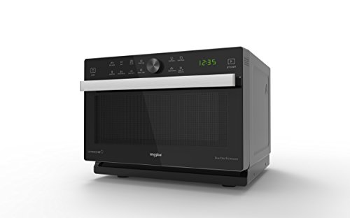 Whirlpool - Horno microondas MWP 339 SB Supreme Chef, cavidad de 33 L, color silver, MW combi, touch control sensor, potencia MWO 900 W, potencia grill 1200 W