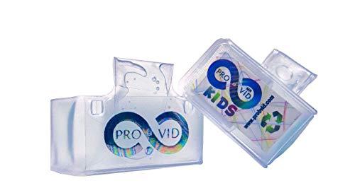 Provid - Pulsera kids con gel hidroalcohólico con aroma a manzana, 70% contenido de alcohol, limpiadora y desinfectante