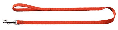 HUNTER ECCO SPORT Führleine für Hunde, Nylon, 1,5 x 110 cm, rot