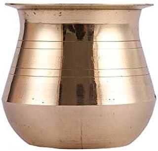 Aatm Brass Handicraft Kalash/Lota for Pooja and Gifting Purpose Dia 2.3 Inch