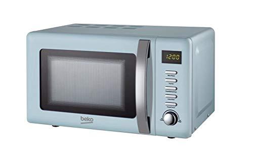 Beko MOC20200M Solo Retro Microwave 20L 800W - Blue