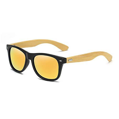 LHSX Sonnenbrille für Herren und Damen, beschichtet, Spiegel, Sonnenbrille, Retro-Brille 05