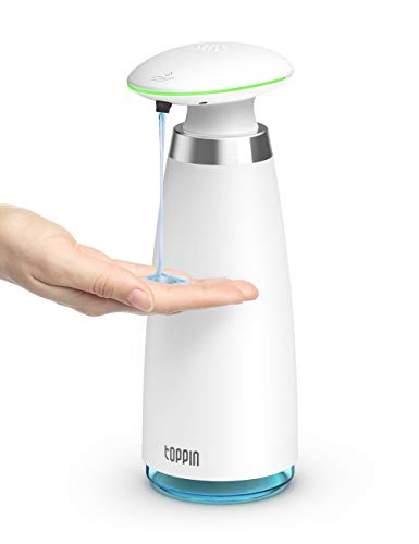 TOPPIN Automatic Soap Dispenser - Touchless Hand Liquid Soap...