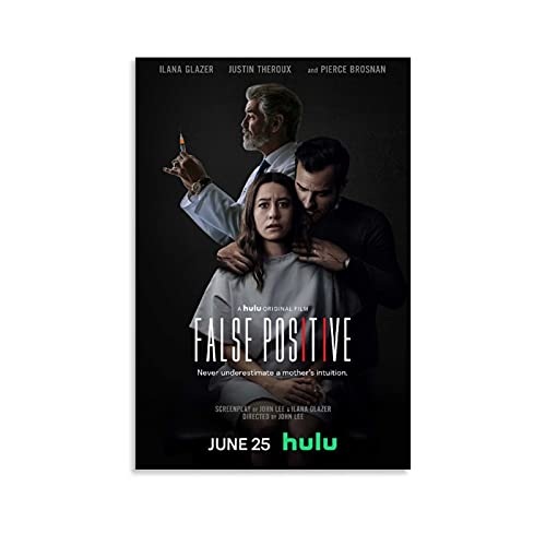 Top 100 Movie Poster False Positive Back in 2021 Horror Film for Room Aesthetic Birthday Gifts for Womenmen Guys 1 Wall Picture Print and Canvas Art Modern Family office room Decor Posters 20x30inch(