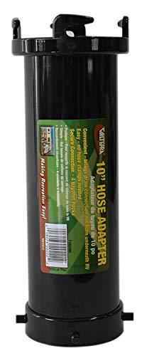 Valterra T1022BK Hose Adapter-10 Sewer Drain Extension, Black, 25.40