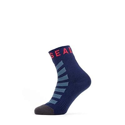 SealSkinz Unisex Waterproof Warm Weather Ankle Length Sock With Hydrostop Socks