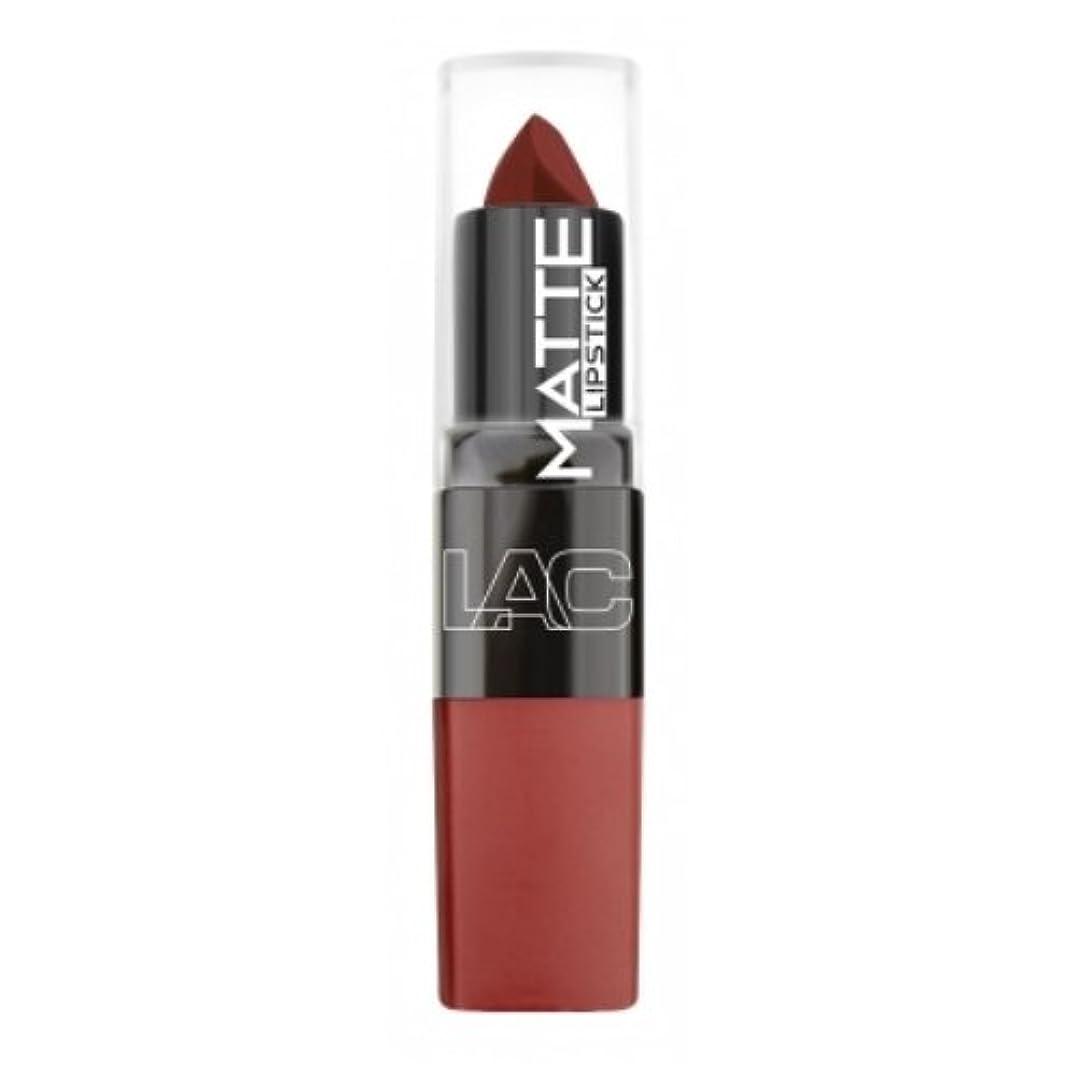 役員涙メロドラマティック(6 Pack) LA Colors Matte Lipstick - Mysterious (並行輸入品)