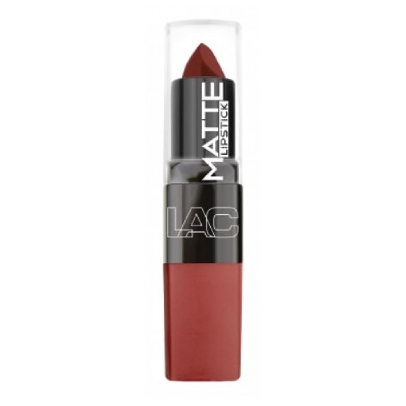 測る失うわかりやすい(6 Pack) LA Colors Matte Lipstick - Mysterious (並行輸入品)