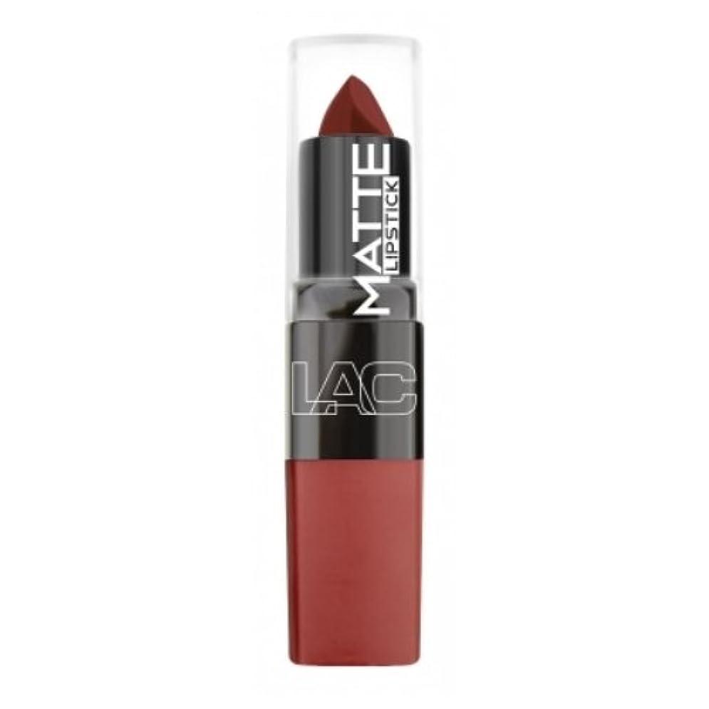 宣言する誰でも不十分(3 Pack) LA Colors Matte Lipstick - Mysterious (並行輸入品)
