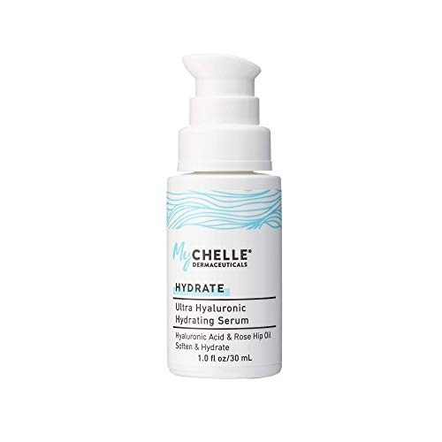MyChelle Dermaceuticals Ultra Hyaluronic Hydrating Serum, Hyaluronic Acid Serum for Dry and Normal Skin Types