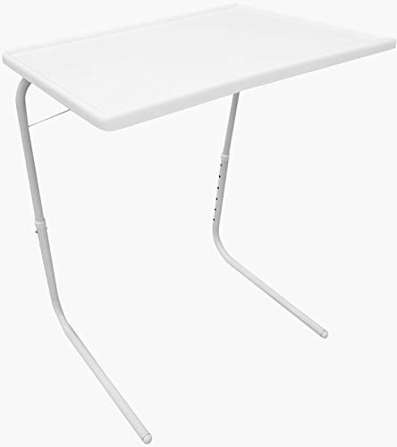 Price comparison product image iMounTEK Portable Collapsible Office Laptop Desk Table. Adjustable Tablet Reading Drawing Table,  Bed Lap Breakfast Tray Camping Table,  Notebook Stand Reading Holder for Kids / Sofa / Couch Floor / Writing