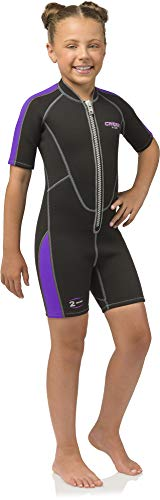 Cressi Lido Jr, Black/Purple, 2XS