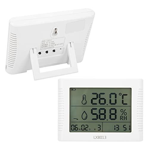 Higrómetro, higrómetro electrónico Medidor de temperatura y humedad multifuncional para la industria para el laboratorio