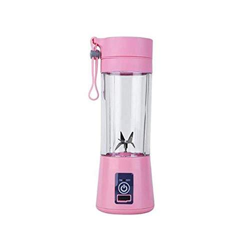 380MI Draagbare USB-sap, mini-sap, huishoudsap, citroen, citrussap-extractor, appelsap-mixer, keukenmachine roze