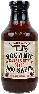 Trader Joe's TJ's Organic Kansas City Style BBQ Sauce NET WT. 18 OZ