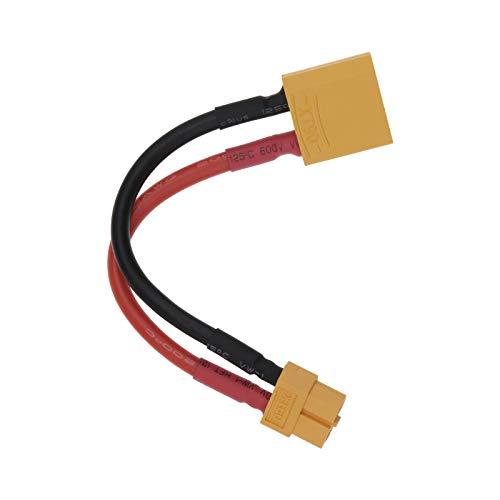 XT90 macho a XT60 hembra adaptador de cable con 10 cm/4 pulgadas...