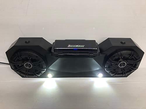 Universal Radio Stereo BT Capable Sound bar UTV Golf Cart Kicker Speakers pods