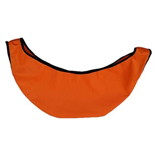 T TOOYFUL Bowling Ball Bag Storage Reinigerhalter Wippe Reiniger Handtuchballenpolierer - Orange