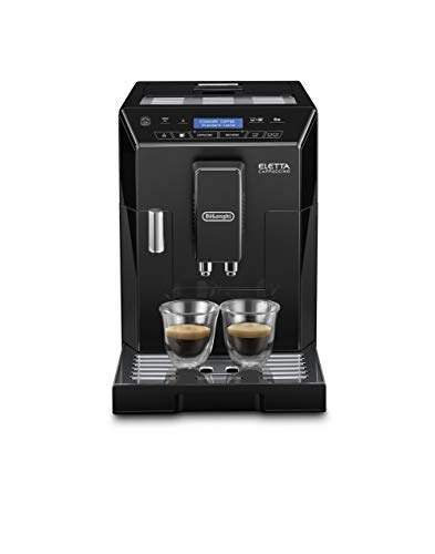 De'Longhi Eletta, Fully Automatic Bean to Cup Coffee Machine, Cappuccino and Espresso Maker, ECAM 44.660.B, Black small image