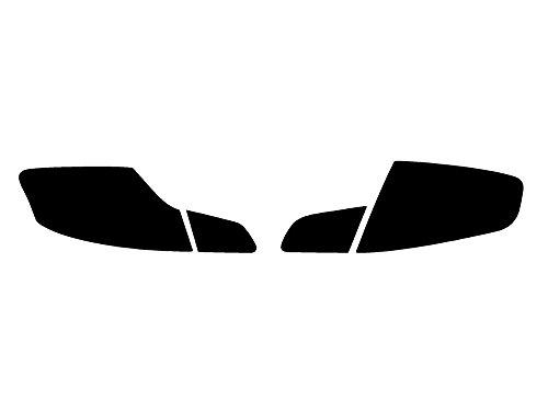 Rtint Tail Light Tint Covers Compatible with Infiniti G35 2007-2008 (Sedan) - Smoke