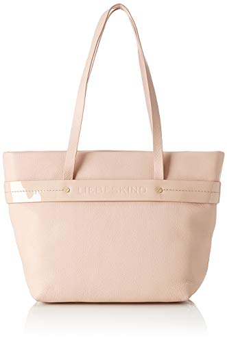 Liebeskind Berlin Damen Soshopper Shopper Medium Schultertasche, Pink (Dusty Rose), 12x25x26 cm