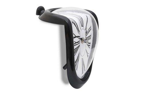 Schmelzende Uhr Zerfließende Wanduhr Melting Clock im Dali Stil