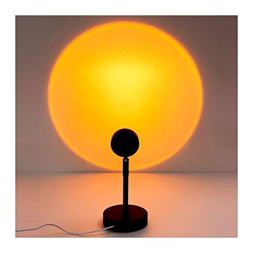 WFL-lámpara de escritorio pequeña lámpara de mesa, lámpara de pie, lámpara de arco iris LED Proyección nivel de energía 【A++】