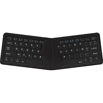 Novodio Travel Keyboard Clavier AZERTY Bluetooth pliable