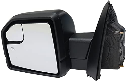 Kool Vue Mirror Compatible with 2015-2018 Ford F150 Pwr Man Fldg Htd with Blind...