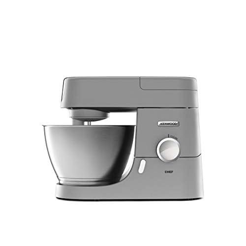 Kenwood KVC3100S Impastatrice Planetaria Chef, Robot da Cucina Mixer, 1000 W, 4.6 Litri, Acciaio, Metallo, Argento
