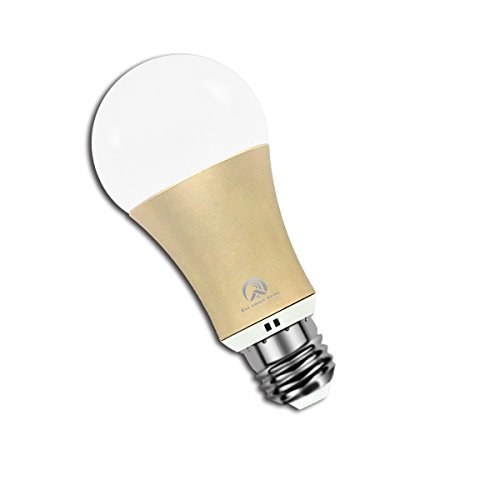 Hot Smart WiFi Bulb Colour Changing Remote Control by Smartphone IOS & Android Compatible with Alexa (Gold)