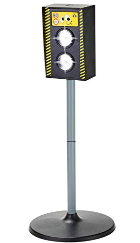 L.A. Sports Blitzer Radarfalle Kinder Verkehrserziehung Spielzeug Radargerät mit Licht Sound